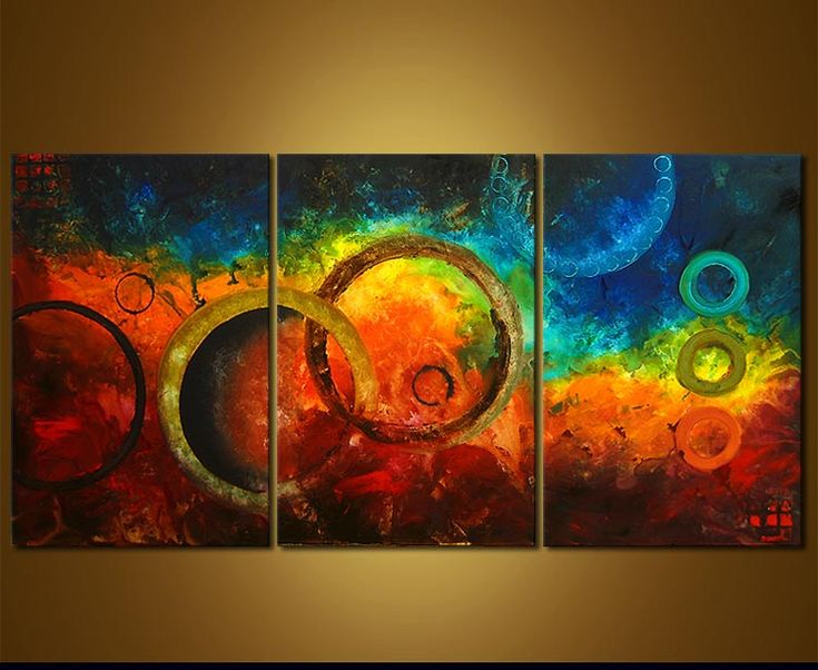 Abstract Painting - Randezvous with Rama #3687