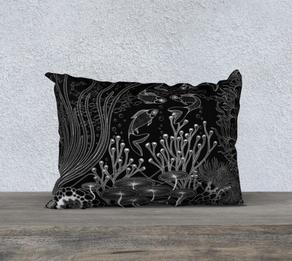 "Lovescapes Pillow 20"" x 14"" (Oceanland 01)"