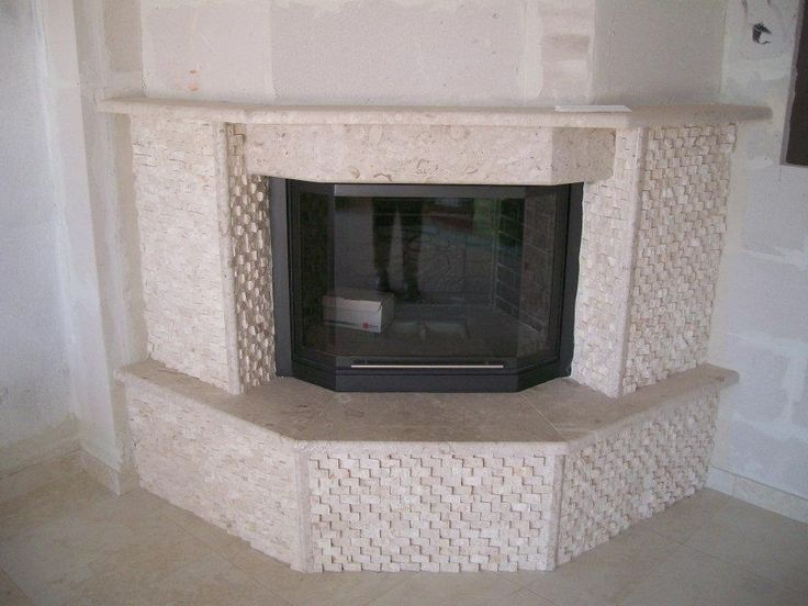 "#Fireplace#marble ""perla"""