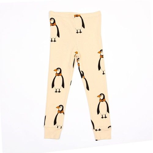MINI RODINI, PENGUIN LEGGING, BEIGE, €29