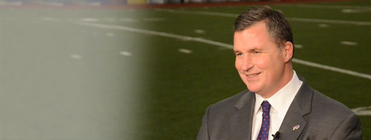 Doug Marrone:  NFL player who is now the coach of the Buffalo Bills.