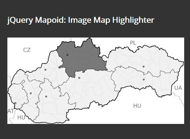 Highlight Image Areas On Hover - jQuery Mapoid | jQuery Plugins