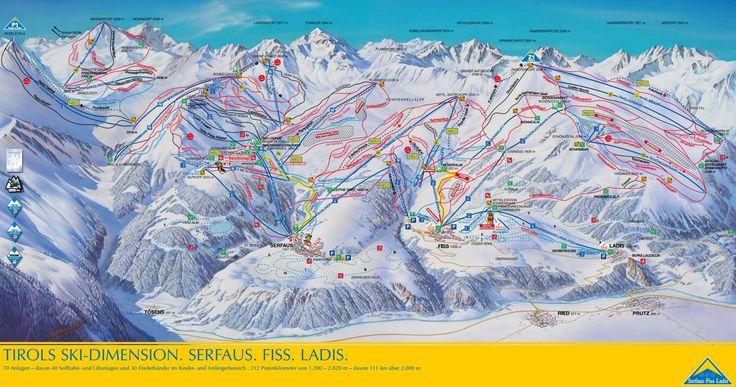 Chalets en appartementen voor wintersport in skigebied Serfaus, Fiss en Ladis…