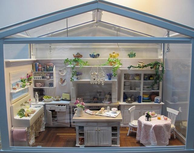 14 best miniaturen k chen ideen images on pinterest. Black Bedroom Furniture Sets. Home Design Ideas