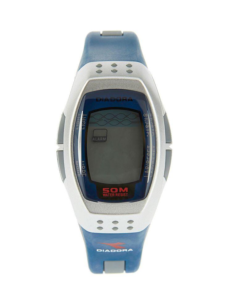 ΠΑΡΤΟ ΛΙΓΟ ΑΛΛΙΩΣ  : Ρολόι Diadora με ψηφιακό καντράν, ασημί κάσα και μ...