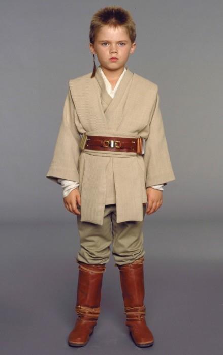 young Anakin Skywalker