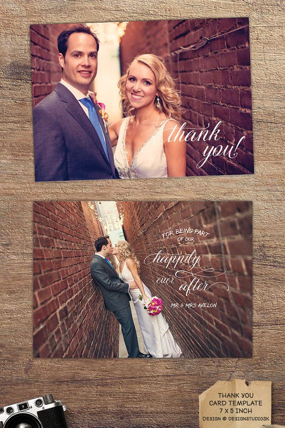 Create a complete boutique experience for your newlywed couples. Offer a beautiful way of saying thank you. #wedding #photography #thankyou