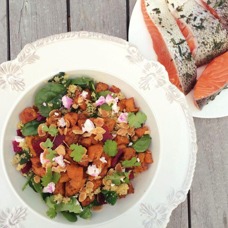 Fragrant Roasted Veggie + Quinoa Salad