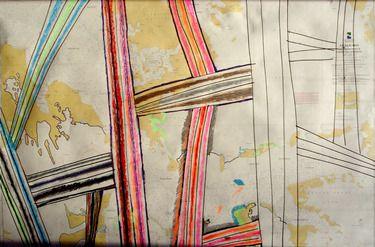 "Saatchi Art Artist Tron Kittelsen; Drawing, ""Planes over Svalbard"" #art"