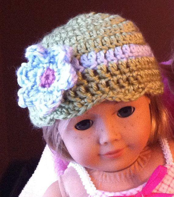 Actual Hat Not Just Pattern Dolls Pinterest