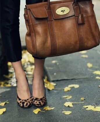 that bag, those shoes...