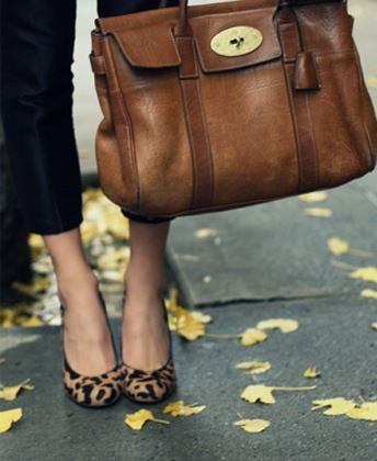 Leopard & camel. Absolutely fabulous. Only one leopard print is necessary, especially when paired with a fantastic bag such as this one.