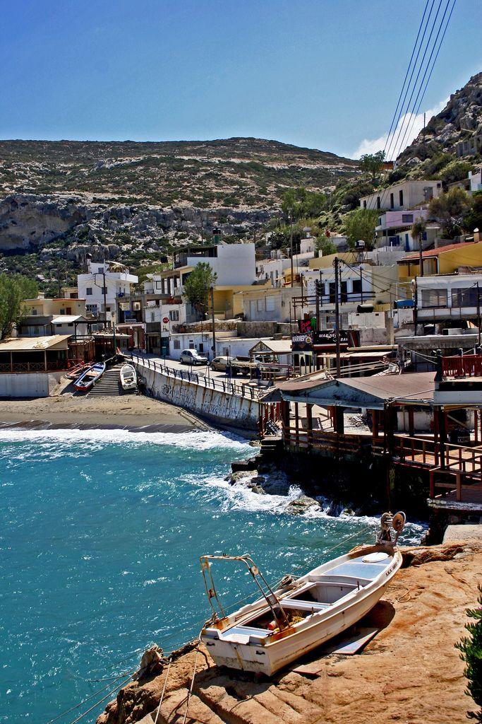 Matala, Crete, Greece by von-rudi-heim