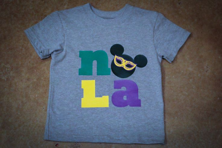 Mardi Gras NOLA Disney Inspired Adult or Kid Shirt by RowboatCorbVinyl on Etsy https://www.etsy.com/listing/265761775/mardi-gras-nola-disney-inspired-adult-or
