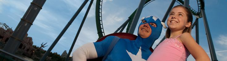 Riders guide and height requirements at Universal Orlando theme parks