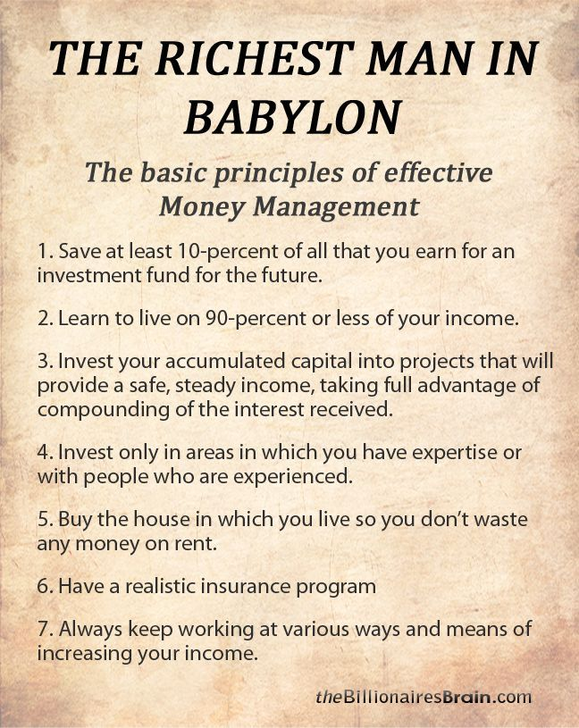 7 Best The Richest Man In Babylon Images On Pinterest
