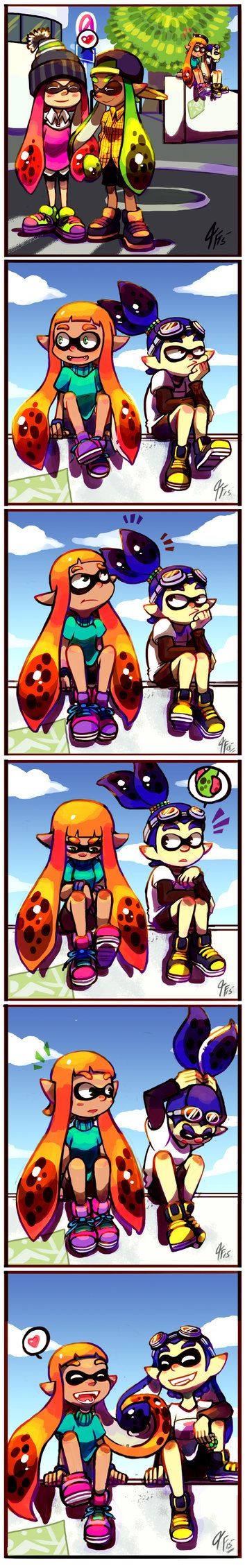 Tentacle in Tentacle by TamarinFrog on DeviantArt