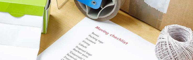 PODS Moving Checklist