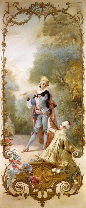 Georges Jules Victor Clairin (1843 - 1919)