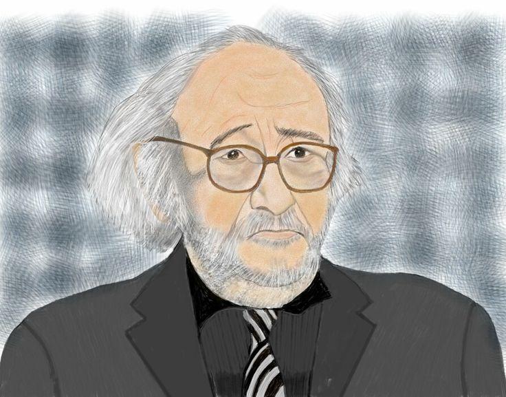 António Vitorino de Almeida - Music composer portuguese. Art digital.