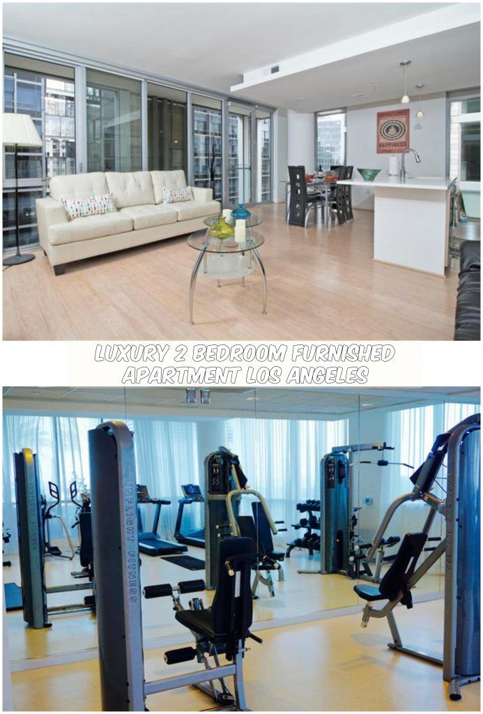Situated in Los Angeles, Luxury 2 Bedroom Furnished Apartment Los Angeles  Downtown is a short