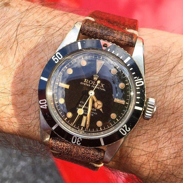 """1959 Rolex 4-line 6538 """"James Bond"""""""