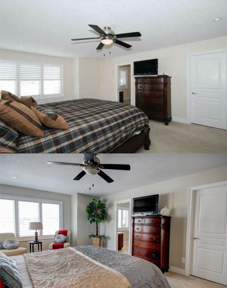 17 best images about before and after home staging on pinterest ontario master bedrooms and Master bedroom home staging