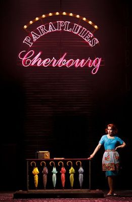 Photograph from The Umbrellas of Cherbourg