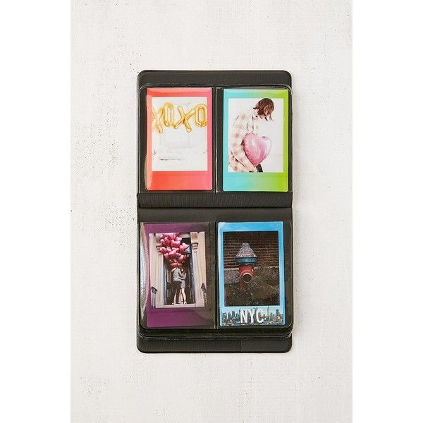 Instax Patterned Photo Album (16 NZD) ❤ liked on Polyvore featuring home, home decor, frames, plastic picture frames, pocket photo album, plastic frames and urban outfitters
