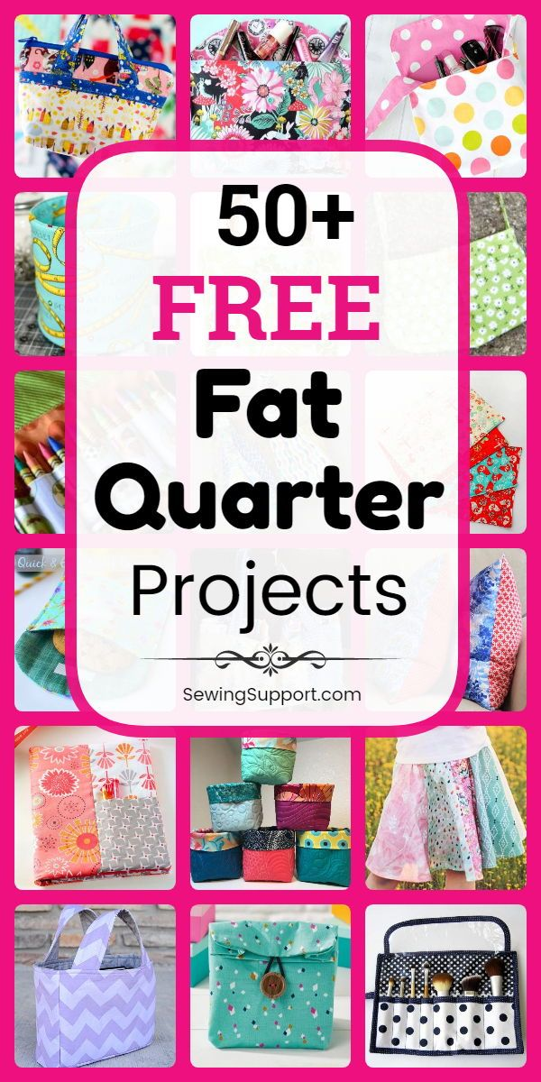 Fat Quarter Sewing Projects. Over 50 free Fat Quarter projects, tutorials and …   – Projekte