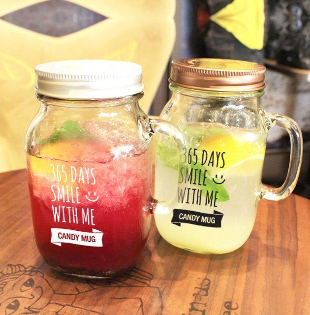 Fancy   365days Candy mug (glass jar)