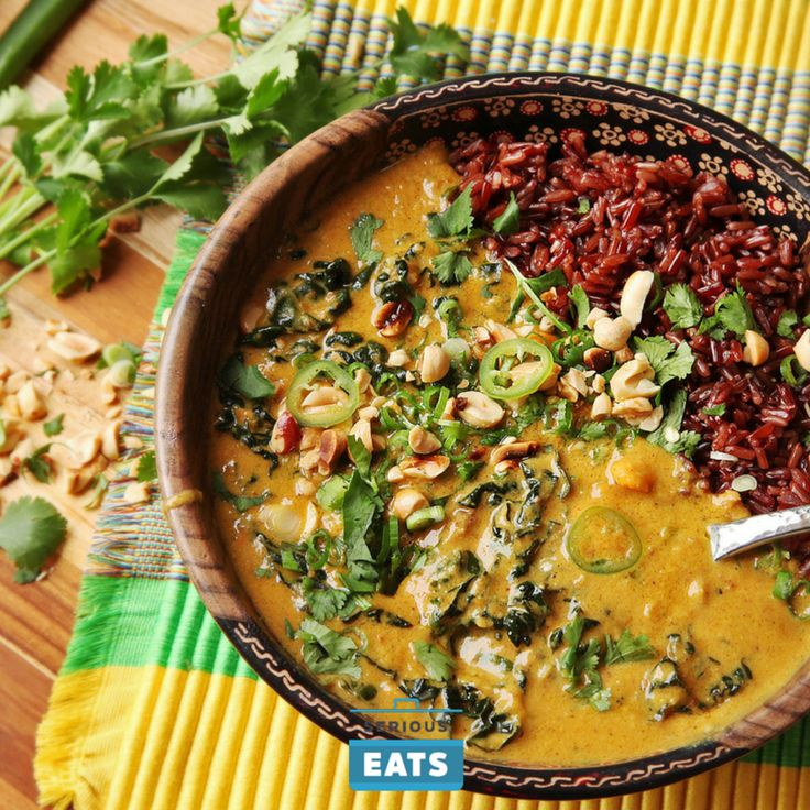 1348 best vegetarian meals images on pinterest serious eats vegan vegan peanut sweet potato and kale soup with coconut forumfinder Choice Image