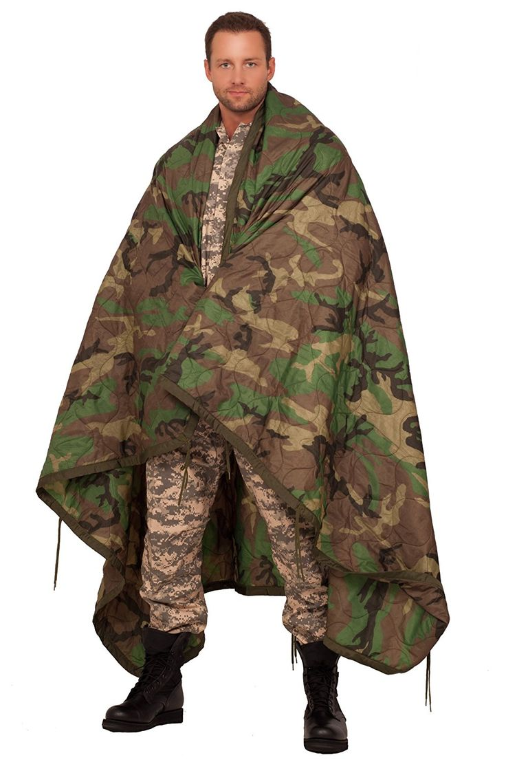 Genuine US Military All Weather Poncho Liner Blanket MULTICAM Multi-cam Multi Cam