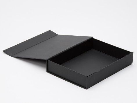 A4 DOCUMENT BOX BLACK