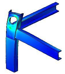 Расчет на прочность металлоконструкции для транспортировки изделия