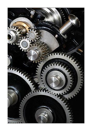 Gear Train | Gears on my Drummond lathe. | Don Hoey | Flickr