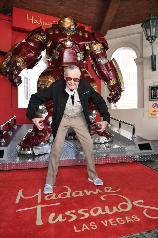 Madame Tussauds Las Vegas and Marvel Unveil Brand New Hulkbuster Figure with Stan Lee #Marvel