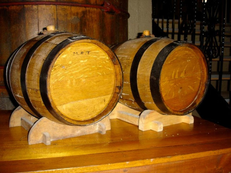 The barrels at Herbal Lore