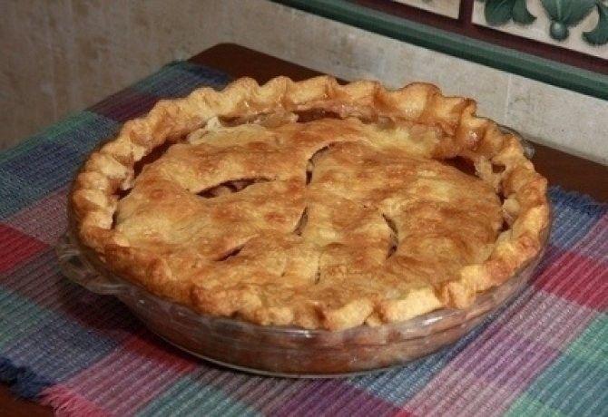 Amerikai almás pite recept képpel. Hozzávalók és az elkészítés részletes leírása. Az amerikai almás pite elkészítési ideje: 100 perc