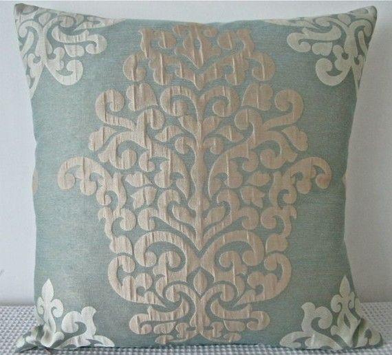 damask/baroque pillow