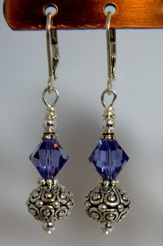 Crystal Oasis Earrings by Seven Blue Designs on Etsy