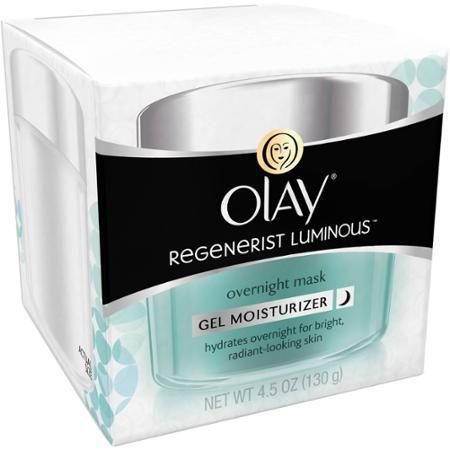 $24 Olay Regenerist Luminous Overnight Mask Gel Moisturizer, 4.5 fl oz - Walmart.com