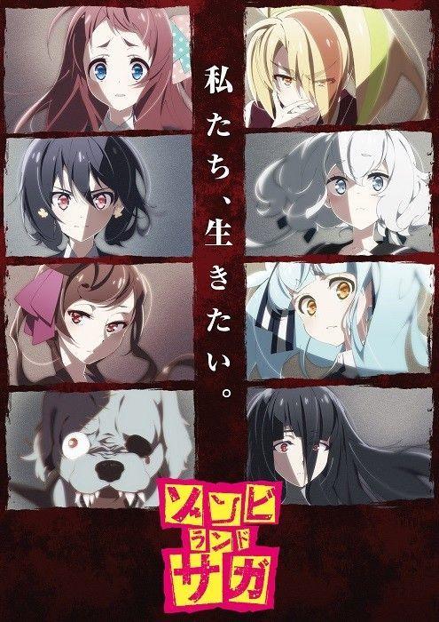 Zombieland Saga Un Nouvel Anime De Zombie