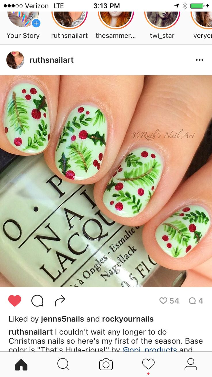 The 84 best Christmas Nail Inspiration images on Pinterest ...