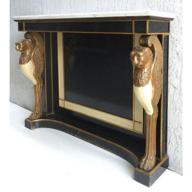 1920's Jansen Style French Empire Revival Console Table - Image 4 of 10