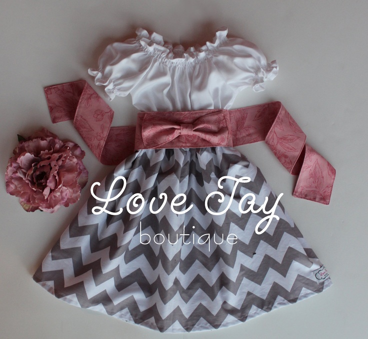 "Girls Valentines Day Peasant style dress ""Sweet Maria"" boutique hand made 6-9 month to 5T...5T Ready to ship...Love Tay Boutique. $47.00, via Etsy."