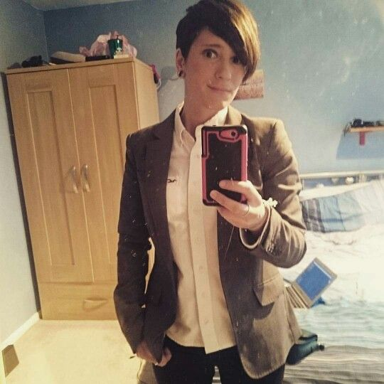 Androgynous, lesbian, queer, my fashion, tomboy,