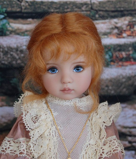 Dianna Effner Little Darling #1 Limited Edition. Painted by Kuwahidolls