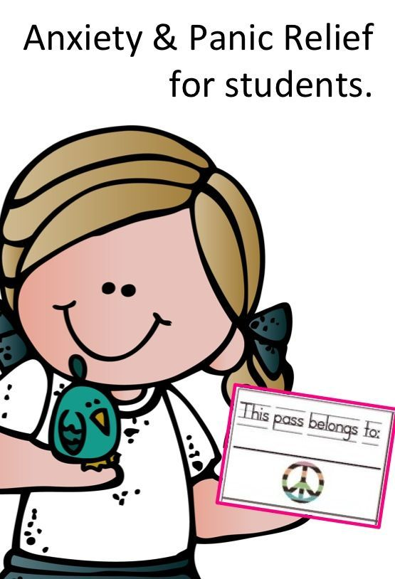 """The """"Peace Pass"""" Program is a Classroom Anxiety Management System for counselors or teachers to use with students suffering with anxiety or panic. Give your students the peace of mind in knowing that if they begin to experience symptoms of panic or anxiety, that they will be free to go to their designated stress free zone simply by turning in a """"peace pass"""" to their teacher."""
