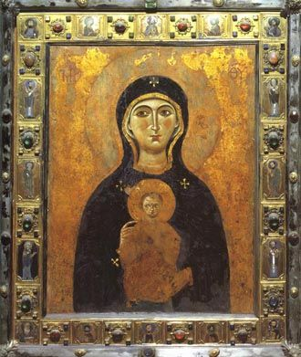 11th - 12th century image of the Theotokos called Nicopaea by the Venetians who…